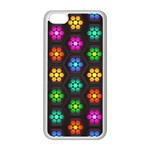 Pattern Background Colorful Design Apple iPhone 5C Seamless Case (White)