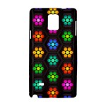 Pattern Background Colorful Design Samsung Galaxy Note 4 Hardshell Case