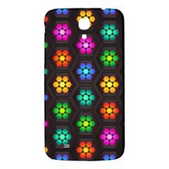 Pattern Background Colorful Design Samsung Galaxy Mega I9200 Hardshell Back Case by Amaryn4rt
