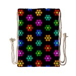 Pattern Background Colorful Design Drawstring Bag (Small)