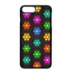 Pattern Background Colorful Design Apple iPhone 7 Plus Seamless Case (Black)