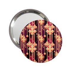 Seamless Pattern 2 25  Handbag Mirrors