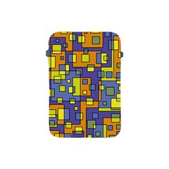 Square Background Background Texture Apple Ipad Mini Protective Soft Cases by Amaryn4rt