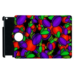 Plums And Peaches Apple Ipad 3/4 Flip 360 Case by Valentinaart