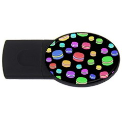 Colorful Macaroons Usb Flash Drive Oval (2 Gb)  by Valentinaart