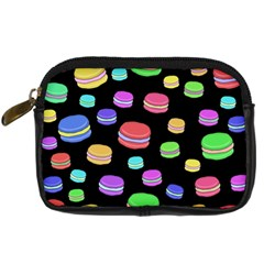 Colorful Macaroons Digital Camera Cases by Valentinaart