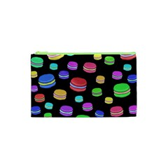 Colorful Macaroons Cosmetic Bag (xs) by Valentinaart