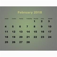 Jane  2018 Calendar (large Numbers) By Deborah   Wall Calendar 11  X 8 5  (12 Months)   Kkt11ajdvtzq   Www Artscow Com Feb 2018