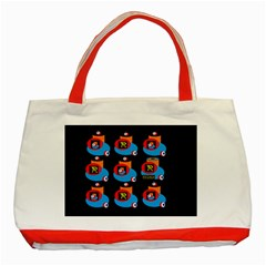 Queen Mrtacpans Two 5 Classic Tote Bag (red) by MRTACPANS