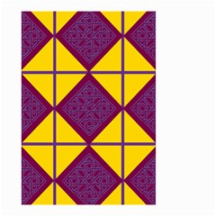 Complexion Purple Yellow Small Garden Flag (Two Sides) by Jojostore