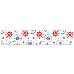 Compass Anchor Flano Scarf (small) by Jojostore