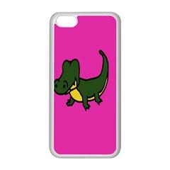 Crocodile Apple Iphone 5c Seamless Case (white) by Jojostore