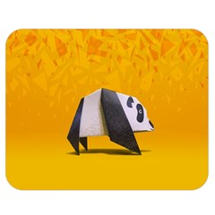 Cute Panda Double Sided Flano Blanket (medium)  by Jojostore