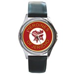 Heroines of Jericho Round Metal Watch