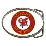 Heroines of Jericho Belt Buckle
