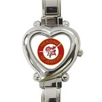 Heroines of Jericho Heart Italian Charm Watch