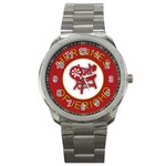 Heroines of Jericho Sport Metal Watch