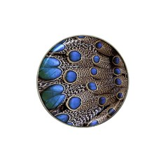 Feathers Peacock Light Hat Clip Ball Marker (4 Pack) by Jojostore