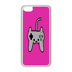 Game Pink Apple Iphone 5c Seamless Case (white) by Jojostore