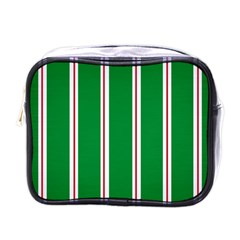 Green Line Mini Toiletries Bags by Jojostore