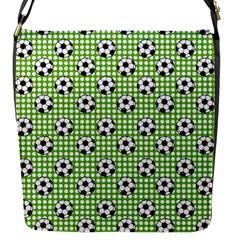 Green Ball Flap Messenger Bag (s) by Jojostore