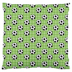 Green Ball Standard Flano Cushion Case (one Side) by Jojostore