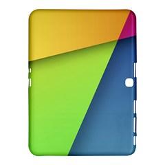 Lock Screen Samsung Galaxy Tab 4 (10 1 ) Hardshell Case  by Jojostore