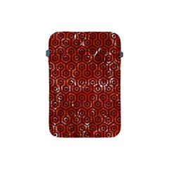 Hexagon1 Black Marble & Red Marble (r) Apple Ipad Mini Protective Soft Case by trendistuff