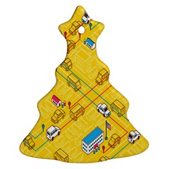Highway Town Christmas Tree Ornament (2 Sides) by Jojostore