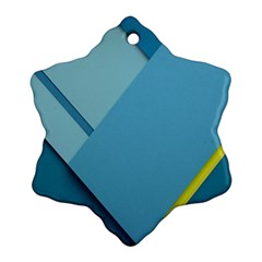 New Bok Blue Ornament (snowflake)  by Jojostore