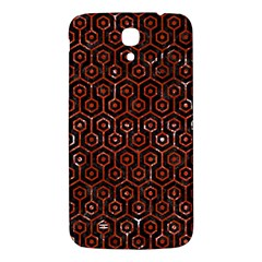 Hexagon1 Black Marble & Red Marble Samsung Galaxy Mega I9200 Hardshell Back Case by trendistuff