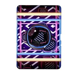 Abstract Sphere Room 3d Design Samsung Galaxy Tab 2 (10 1 ) P5100 Hardshell Case