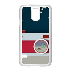 Camera Vector Illustration Samsung Galaxy S5 Case (white) by Amaryn4rt
