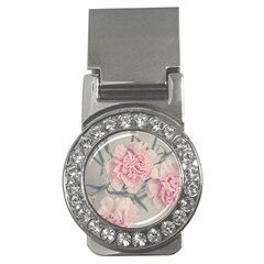 Cloves Flowers Pink Carnation Pink Money Clips (cz)  by Amaryn4rt