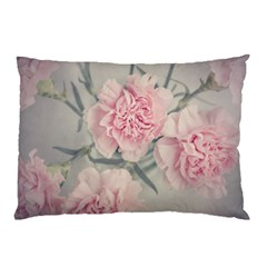 Cloves Flowers Pink Carnation Pink Pillow Case by Amaryn4rt