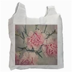 Cloves Flowers Pink Carnation Pink Recycle Bag (one Side) by Amaryn4rt