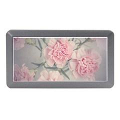 Cloves Flowers Pink Carnation Pink Memory Card Reader (mini) by Amaryn4rt