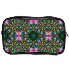 Digital Kaleidoscope Toiletries Bags 2 Side by Amaryn4rt
