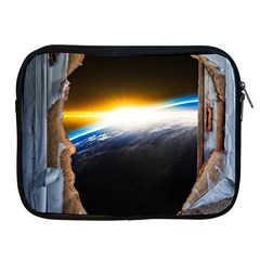 Door Breakthrough Door Sunburst Apple Ipad 2/3/4 Zipper Cases by Amaryn4rt