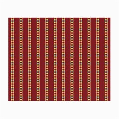 Pattern Background Red Stripes Small Glasses Cloth