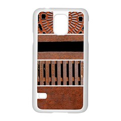 Stainless Structure Collection Samsung Galaxy S5 Case (white) by Amaryn4rt