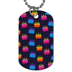 Seamless Tile Repeat Pattern Dog Tag (two Sides) by Jojostore