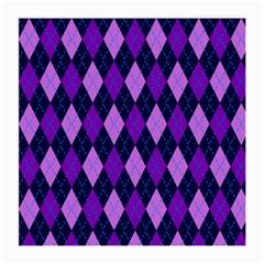Tumblr Static Argyle Pattern Blue Purple Medium Glasses Cloth by Jojostore
