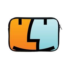 Two Fafe Orange Blue Apple Ipad Mini Zipper Cases by Jojostore