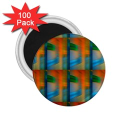 Wall Of Colour Duplication 2 25  Magnets (100 Pack)  by Jojostore