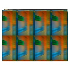 Wall Of Colour Duplication Cosmetic Bag (xxxl)  by Jojostore
