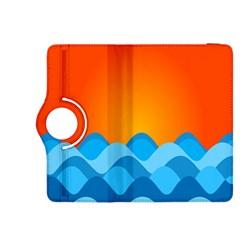 Water Orange Kindle Fire HDX 8.9  Flip 360 Case by Jojostore