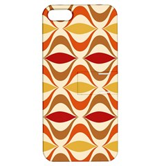 Wave Orange Red Yellow Rainbow Apple Iphone 5 Hardshell Case With Stand by Jojostore