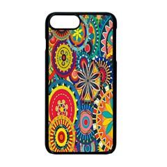 Tumblr Static Colorful Apple Iphone 7 Plus Seamless Case (black) by Jojostore