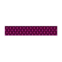Webbing Woven Bamboo Pink Flano Scarf (Mini) by Jojostore